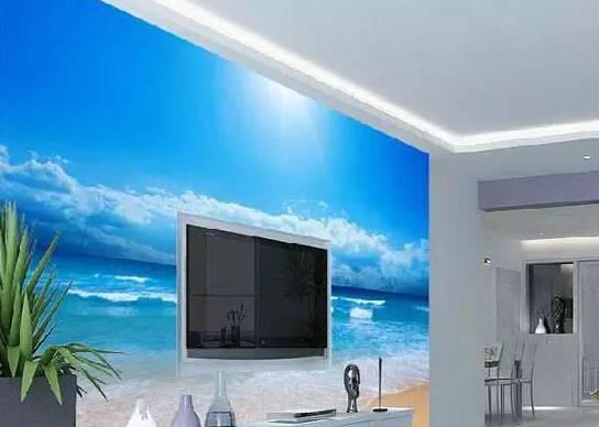 自从有了这些背景墙,看电视的时候就只看墙了!